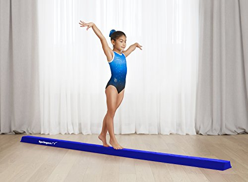 9.5 ft Balance Beam Folding Gymnastic Beam for Girls, Boys, Teens Increase Confidence and Skill in Your Kids Extra Firm Gymnastics Equipment for Home use