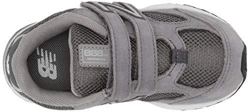 New Balance Boys' 888v2 Hook and Loop Running Shoe Dark Grey, 2 M US Infant by New Balance (Image #7)