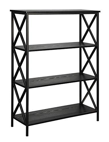 Tier Black Bookcase - 6