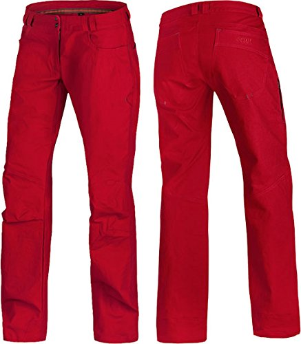 Ocun - Zera Tall Pants, color chilli red, talla M