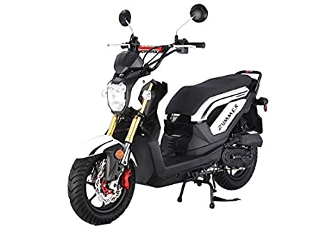 TaoTao Zummer 50cc Sporty Scooter (White)