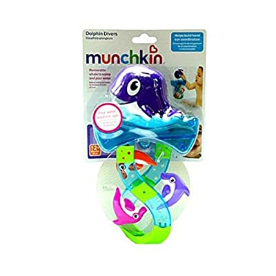 Munchkin Dolphin Divers Bath Toy (Discontinued by Manufacturer) : Bathtub Toys : Baby