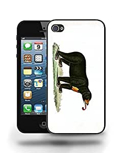 Bear Sketch Drawing Art Phone Case Cover Designs for iPhone 5