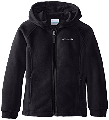 Columbia Big Girls' Benton II Hoodie, Black/Black, Medium
