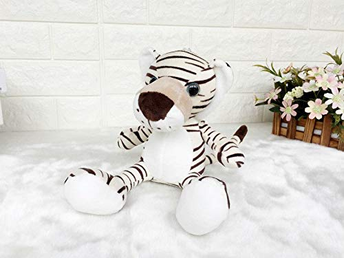 2017 Oct New Cute Germany NICI Jungle Brother Tiger Lion Panther Giraffe Plush Animal Toy 1pcs/lot Wholesale 30cm -