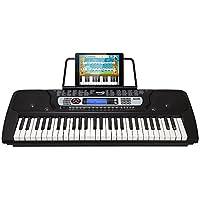 RockJam 54-Key Portable Electronic Keyboard with...