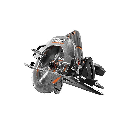 Ridgid R8653 Gen5X Brushless 18V Lithium Ion Cordless 7 1/4 Inch 3,800 RPM Circular Saw with Bevel and Depth Adjustment (Batteries Not Included, Power Tool Only)