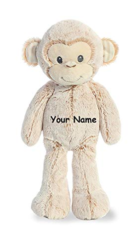 Ebba Personalized Cuddler Marlow Monkey Plush Stuffed Animal Toy - 14 -