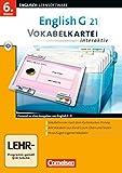 EG 21 Band 2; 6.Klasse Vokabelkarteien interaktiv zu allen Ausgaben