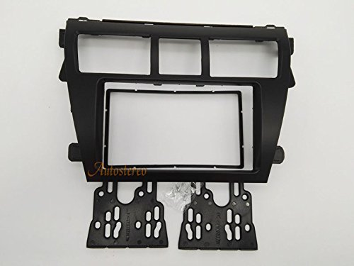 Autostereo 2 Din Car Radio Installation Kit TOYOTA Vios 2007-2012 Belta 2005-2008 Car Radio Mounting Radio Adaptor Frame Fascia Adapter for Toyota Yaris Sedan