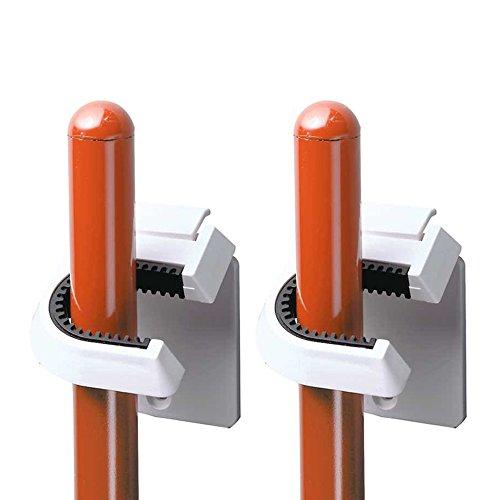 InterDesign Broom Mop Holder White