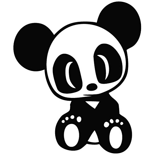 JDM Team Panda - Racer Decal Vinyl Car Wall Laptop Cellphone Sticker (Box Car Racer Sticker)