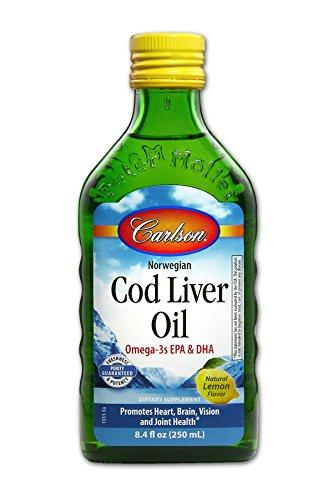 Carlson Liver Natural Lemon Flavor