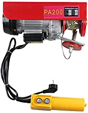 MOMOJA Cabrestante Electrico Polipasto para Elevacion Potencia del Motor (100/200KG)