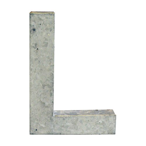 Modelli Creations Alphabet Letter L Wall Decor, Zinc by Modelli Creations