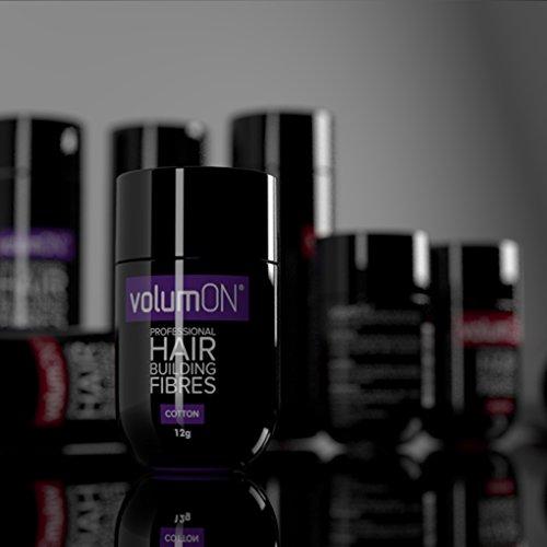 Volumon Professional Hair Building Fibres- Hair Loss Concealer- KERATIN-...