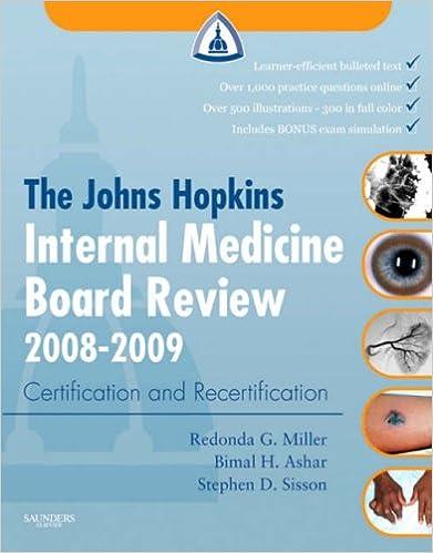 The Johns Hopkins Internal Medicine Board Review 2008-2009
