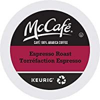 McCafé Espresso Roast Recyclable K-Cup Coffee Pods, 24 Count, Ethically Sourced, For Keurig Coffee Makers