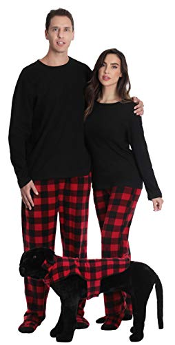 #followme Buffalo Plaid Dog Jacket Clothes for Dogs 6747-10195E-L (Sleeping Dogs Best Outfit)