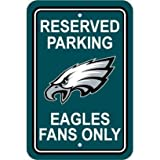Fremont Die NFL Philadelphia Eagles Plastic Parking Sign
