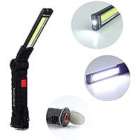 Lampada Frontale 200lm Led Mini Headlamp 4 Smd a 3 modalit/à Risparmio energetico Risparmio luce nteata a prova dacqua Pulsante batteria Torcia torcia corsa torcia
