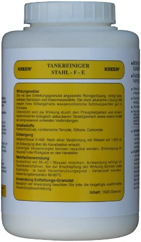 Kreem Tankreiniger Granulat Stahl F E Für 40 Liter Tauchbad Auto