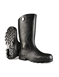 Dunlop Men's Chesapeake Boots, Black, 7 M US