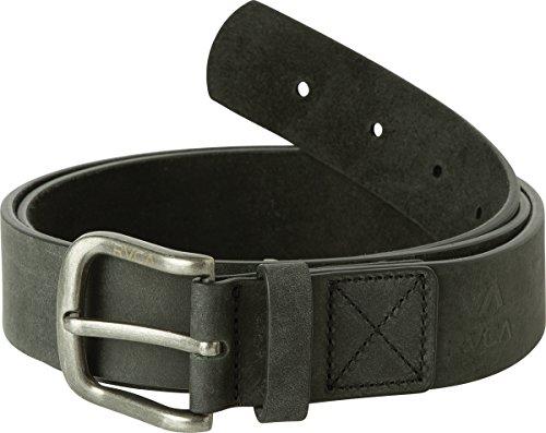 RVCA Men's TRUCE Leather Belt, Black, L/X