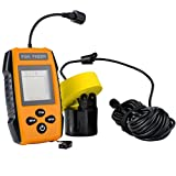 Baoblaze High Definition LCD Sonar Fish Finder 100M Depth Fishing Transducer Sensor for River, Lake, Sea, Carp Fishing