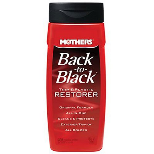 Mothers 06112 Back-to-Black Plastic and Trim Restorer - 12 - Black Trim Plastic