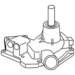 John Deere Pump Assembly Water Part No: A-RE19937 by AI Products