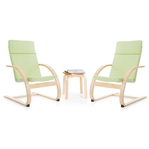 Guidecraft Kiddie Rocker Chair Set, Light Green