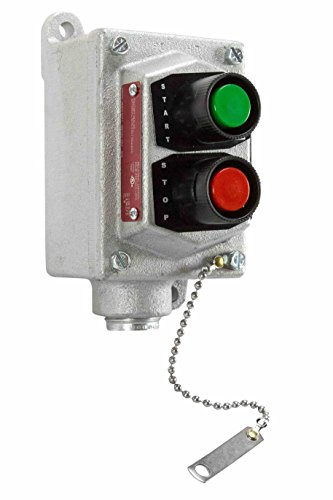 Explosion Proof Push Button 480V Stop/Start Switch - C1D1&2 - C2D1&2 - C3D1&2 - Motor Starter Switch - Explosion Proof Level Switch