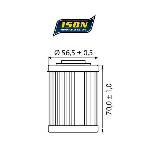 ISON 152 filtro olio