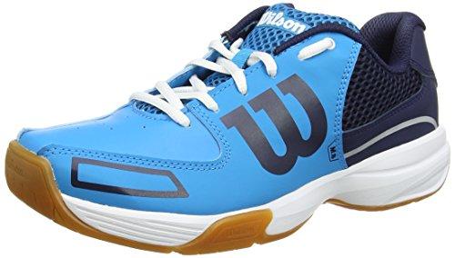 Wilson WRS322350E060, Zapatillas de Tenis Unisex Adulto, Azul (Hawaiian Ocean / Navy / White), 39 2/3 EU