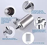 ESOW Faucet Mount Water Filter, SUS304 Stainless