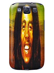 New hot selling fashionable tpu hard back case cover for Samsung Galaxy s3(Bob Marley) by Shari Flanders