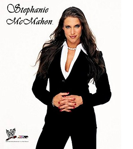 Stephanie McMahon WWE Posed Studio Photo 8