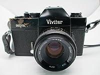 Vivitar 220/SL 35mm SLR Film Camera M42 Mount w/ 50MM 1:1.8 auto 49MM lens