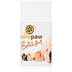 Dog Paw Balm for Pets With Dry Pads - Also Soothes Nose and Rough Elbows - Natural Ointment With Organic Ingredients - Shea Butter Salve Stick - Made in USA - Best Moisturizer and Protector 3 oz