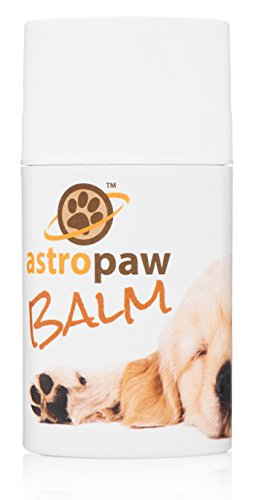 Dog Paw Balm for Pets With Dry Pads - Also Soothes Nose and Rough Elbows - Natural Ointment With Organic Ingredients - Shea Butter Salve Stick - Made in USA - Best Moisturizer and Protector 3 oz ()