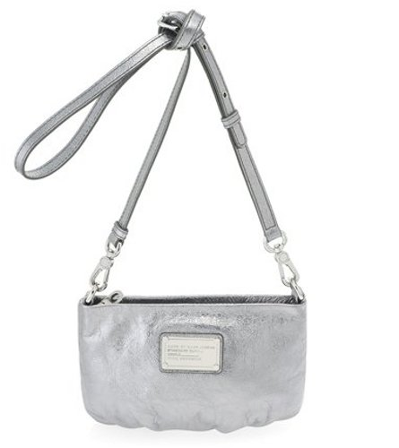 21e8f3a886 Marc by Marc Jacobs Women's Classic Q Percy Bag, Shiny Gunmetal, One Size