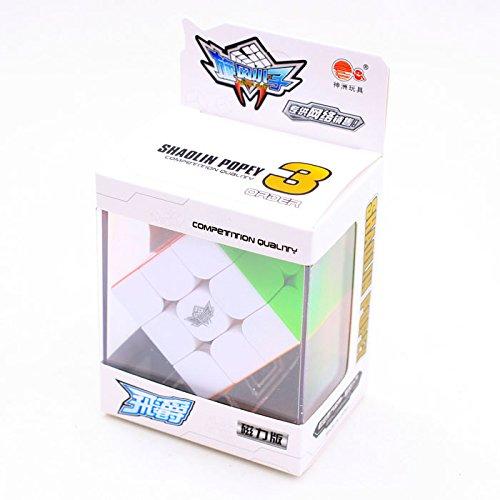 Nitrocubes Cyclone Boys Magnetic 3x3 Bonus Cube Stand Speed Cube Stickerless Magic Cube 3x3x3 Puzzles Toys (56mm)