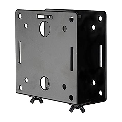 Videosecu Adjustable Small Device Wall-Mounted Bracket for Cable Box Digital TV Media Players some DVD DVR Smart Router Switch Blu-Ray Player Modems Game Consoles MTC02B (Videosecu Av Video)