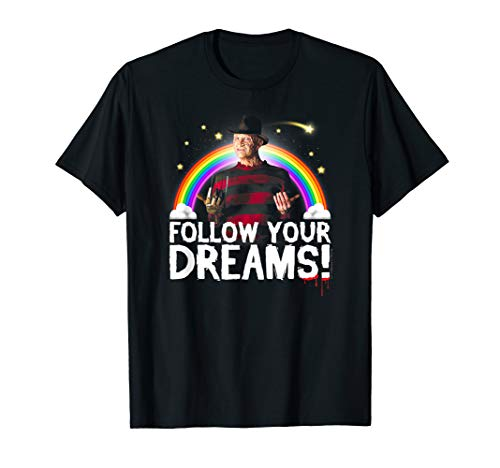 Nightmare on Elm Street Freddy Follow Your Dreams T Shirt