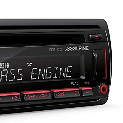 Alpine Single DIN Car Stereo Receiver: Electronics