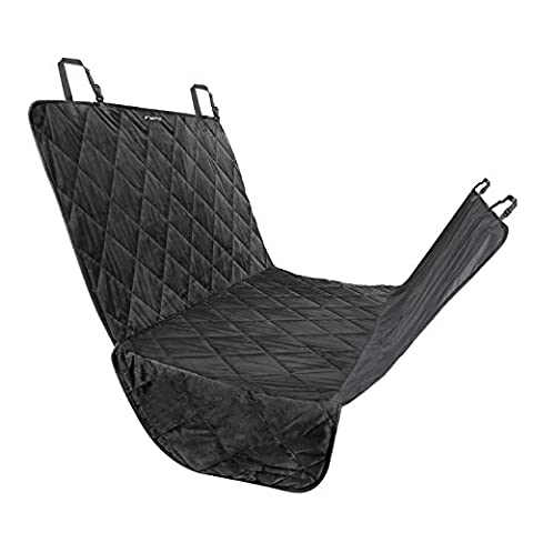 Fypo Dog Car Seat Covers, Waterproof Deluxe Rear Seat Hammock Booster Protector Trunk Liner Mat Blanket with Extra Large Size 65