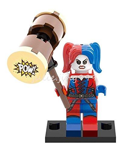 Mini Figures Suicide Squad Harley Quinn DC Comics Harleen Quinzel Building Toys