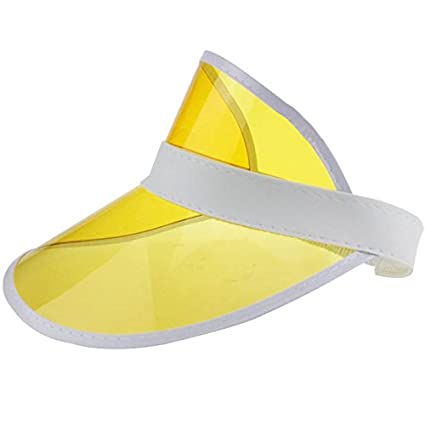 ec49dc54ab7 Amazon.com  XENO-Visor Sun Plain Hat Sports Cap Colors Golf Tennis ...