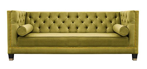Belle Fierté Mostaza Dorado diseño Elegante 3 plazas ...